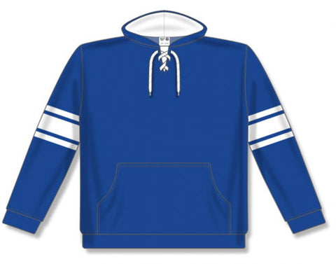 AK NHL Team Stripe Royal/White Hoodie