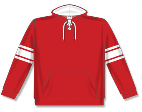 AK NHL Team Stripe Red/White Hoodie