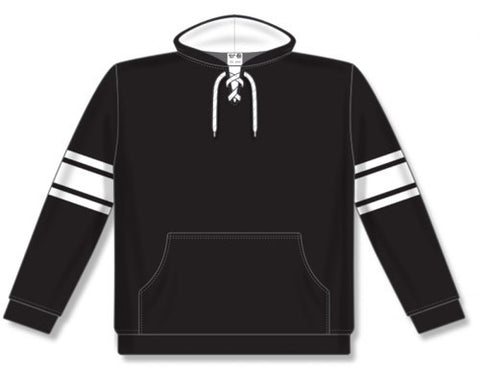 AK NHL Team Stripe Black/White Hoodie