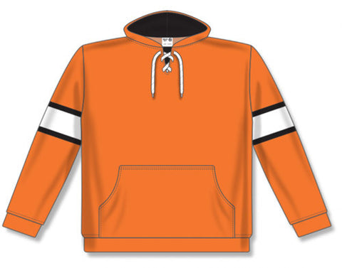 AK NHL Team Stripe Philadelphia Orange Hoodie