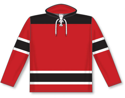 AK Pro Team NHL New Jersey Red Hoodie