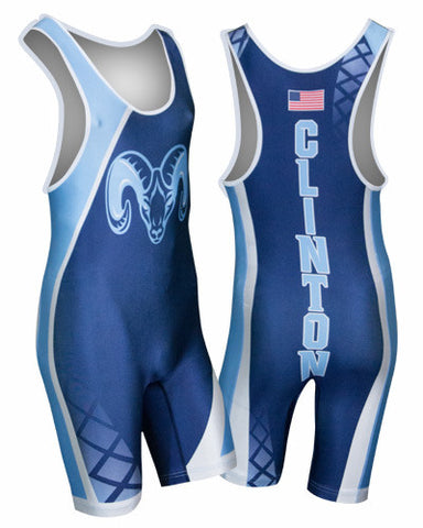 AGGRESSOR Custom Sublimated Wrestling Singlet