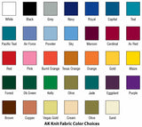 Fabric Color Selection