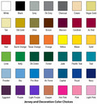 Dye Sublimation Color Selection