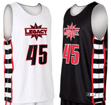 Custom Sublimated Reversible Basketball Practice Jersey