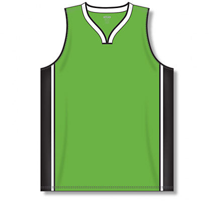 Pro Cut Basketball Jersey with Rap Neck & Side Inserts