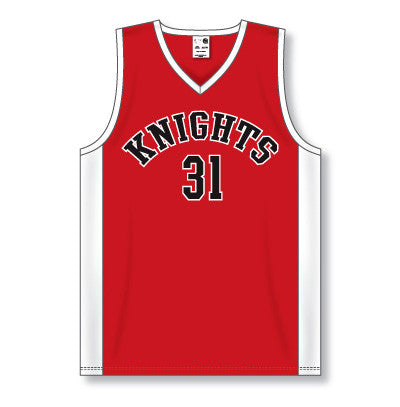Pro Cut Basketball Game Jersey with Side Inserts