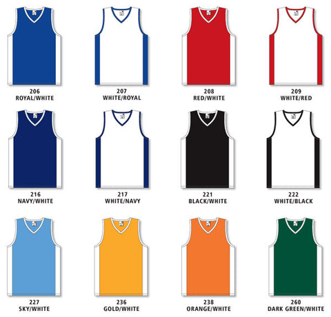 e403ba9fa0d0 Pro Cut Basketball Game Jersey with Side Inserts Colors