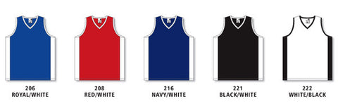 d3edbf3528cd Ladies Pro Cut Basketball Game Jersey with Side Inserts Colors