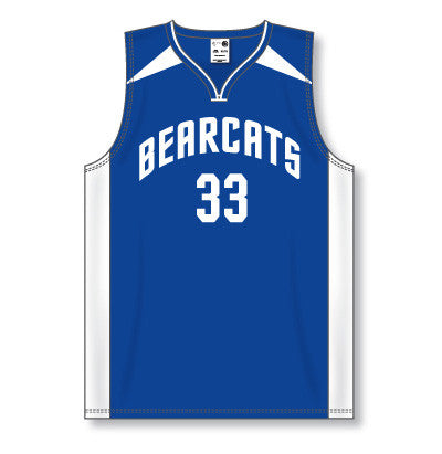 Pro Cut Basketball Game Jersey with Shoulder & Side Inserts
