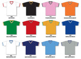 BA1333 V-Neck Baseball Jersey Colors