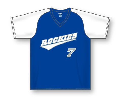 SB1375 V-Neck Softball Jersey