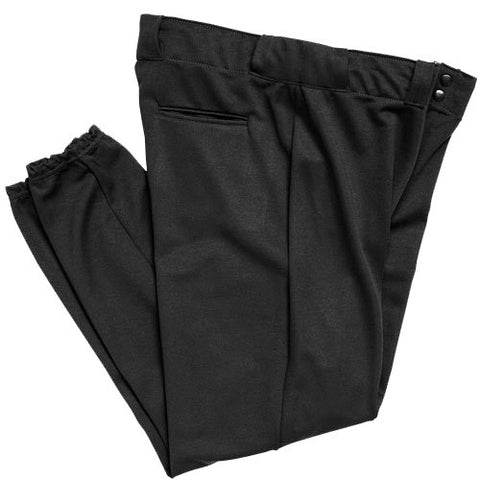 BA1380 Economy Baseball Pant with Belt loops and Elastic Bottom