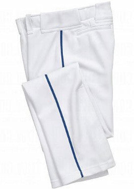 BA1391 Pro Style Baseball Pant with Piping and Open Bottom