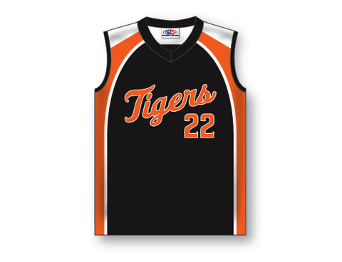 BA203 Custom Ladies Sleeveless V-Neck Baseball Jersey