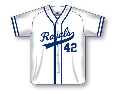 SB523-1 Custom Full Button Softball Jersey