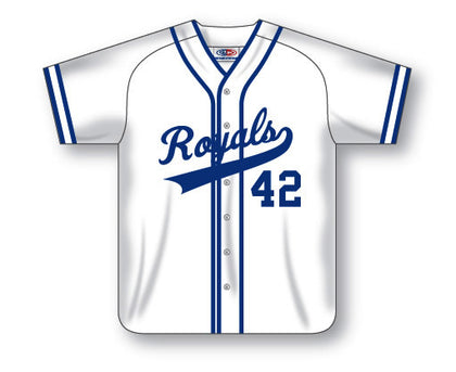 BA523-1 Custom Full Button Baseball Jersey
