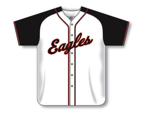 SB523 Custom Full Button Softball Jersey