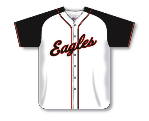 BA523 Custom Full Button Baseball Jersey