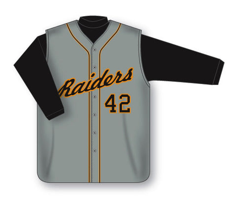 BA528 Custom Full Button Baseball Jersey