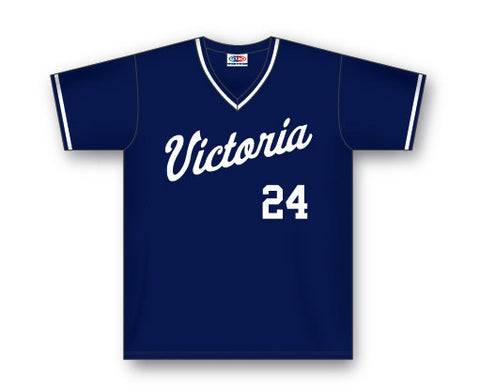 BA542 Custom V-Neck Baseball Jersey