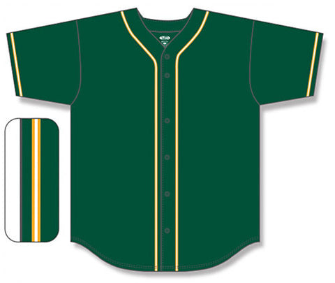 BA5500 Full Button Baseball Jersey
