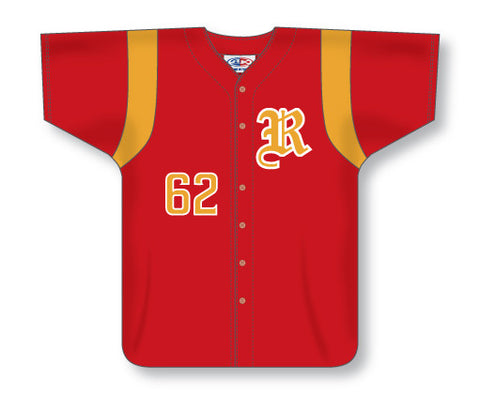 SB551 Custom Full Button Softball Jersey