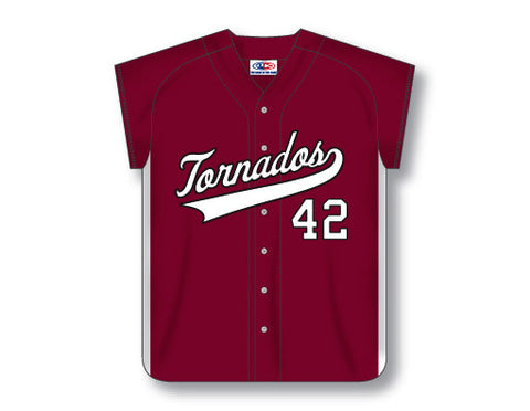 BA554 Custom Ladies Full Button Baseball Jersey