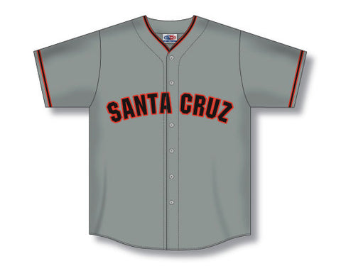 BA562 Custom Full Button Baseball Jersey with Rounded Tail