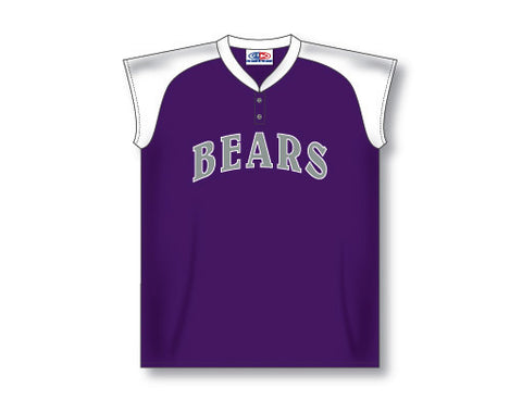 BA570 Custom Ladies Two Button Baseball Jersey