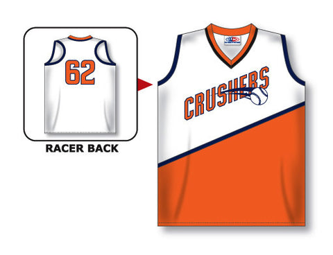 SB573 Custom Ladies Sleeveless Racer Back Softball Jersey