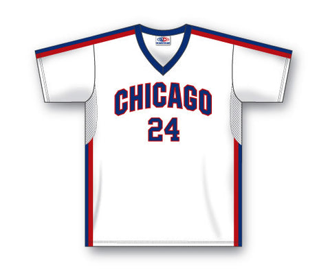 BA579 Custom V-Neck Baseball Jersey