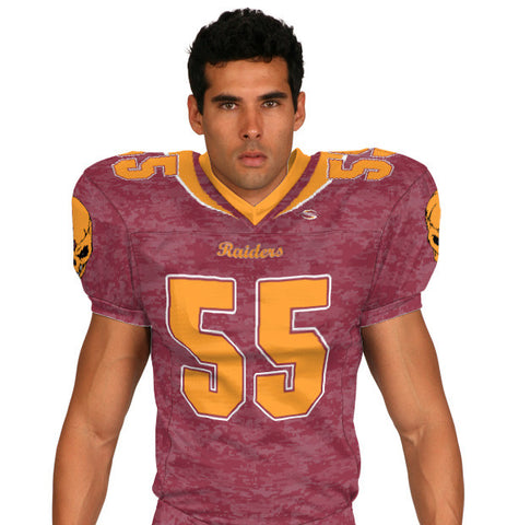 Battletest Custom Sublimated Football Jersey