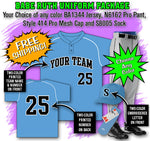 BBPAK6 Babe Ruth Baseball Uniform Package