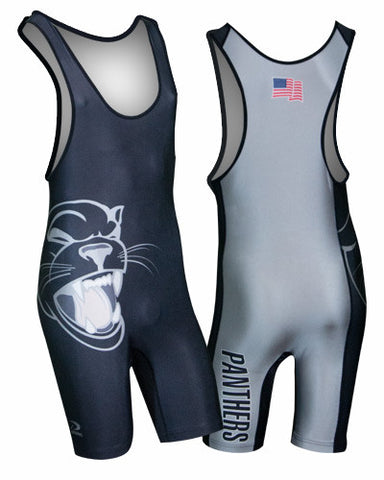 BEAST Custom Sublimated Wrestling Singlet
