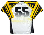 Bruiser Custom Sublimated Hockey Jersey Back View