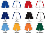 Two-Tone Volleyball Game Shorts Colors