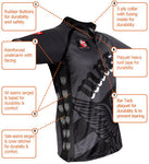 Dynamic Rugby Jersey Construction Features
