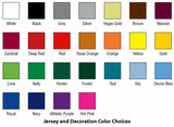 Dynamic Dye Sublimation Color Selection