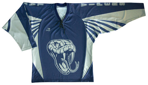 Eliminator Custom Sublimated Hockey Jersey Front View