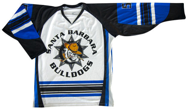 Enforcer Custom Sublimated Hockey Jersey Front View 2c9da4b4198