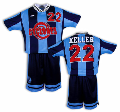 EUROSTRIPE Custom Sublimated Soccer Uniform