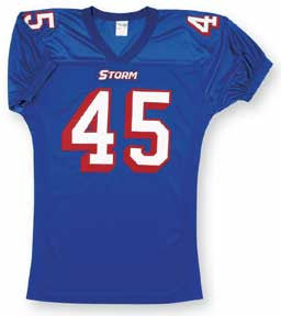 Pro Mesh Football Jersey with Stretch Inserts & Elastic Sleeves