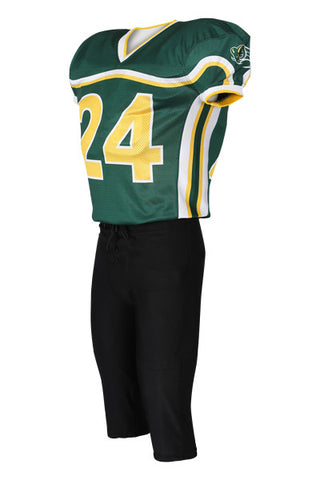 Custom Sublimated Lineman Football Jersey Design 12