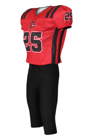 Custom Sublimated Lineman Football Jersey Design 31