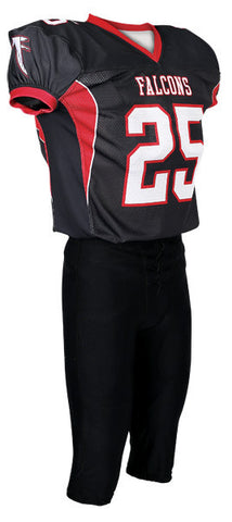 Custom Sublimated Lineman Football Jersey Design 41