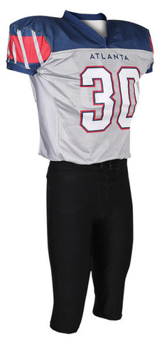 Custom Sublimated Lineman Football Jersey Design 42