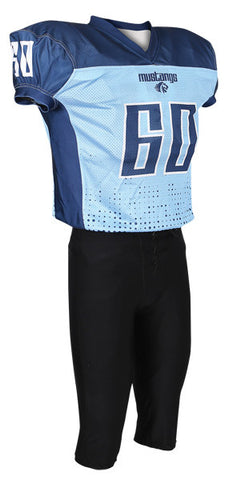 Custom Sublimated Lineman Football Jersey Design 43