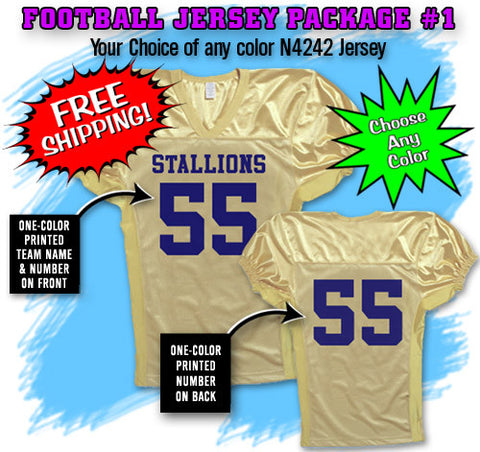 Football Jersey Package 1