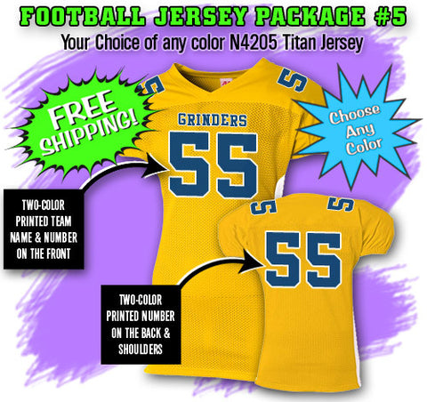 Football Jersey Package 5